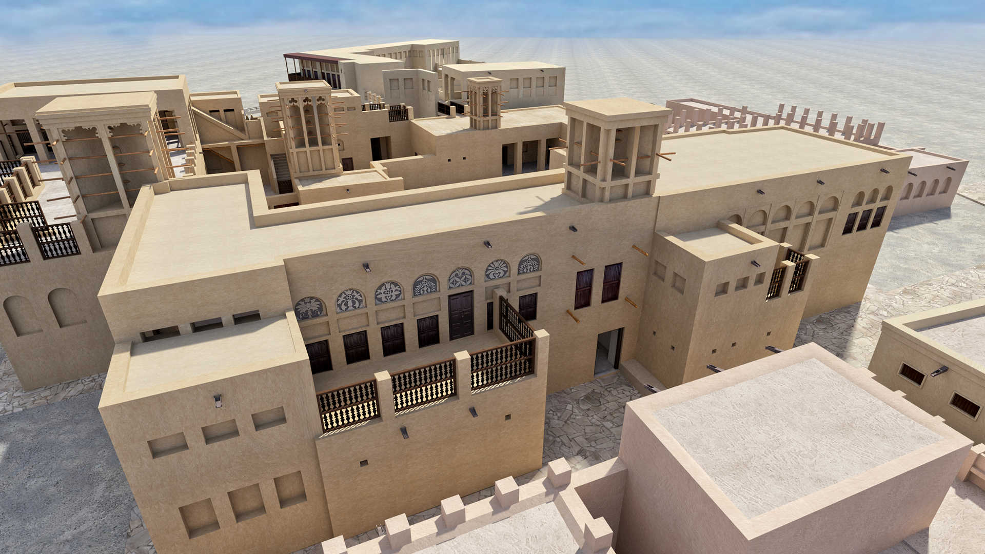 architectural documentation of heritage buildings in dubai