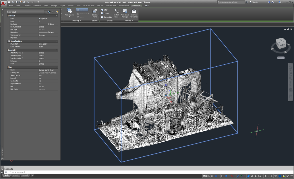 Point cloud status in cad software 3d laser scanning for Software cad 3d
