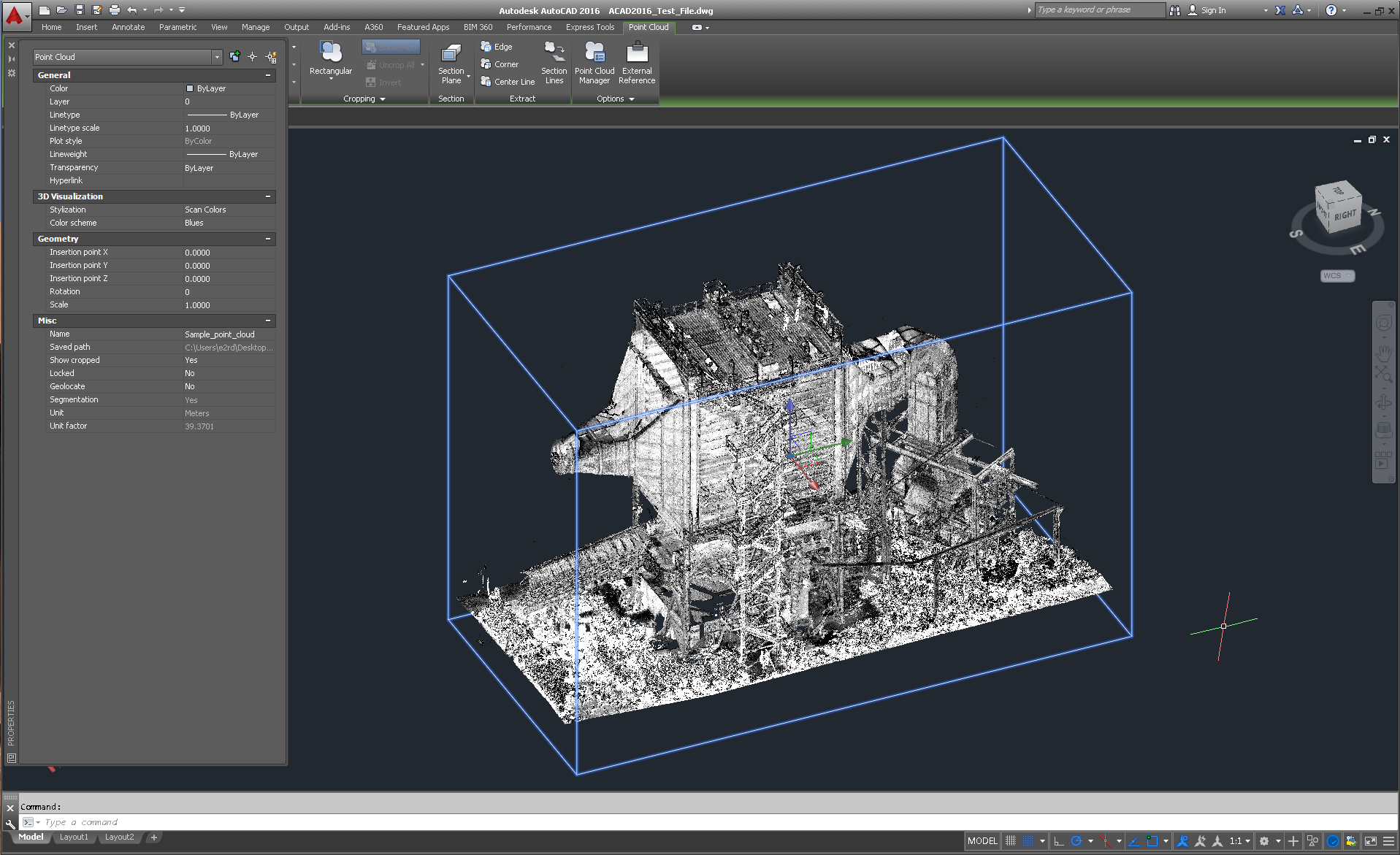 point cloud status in cad software 3d laser scanning