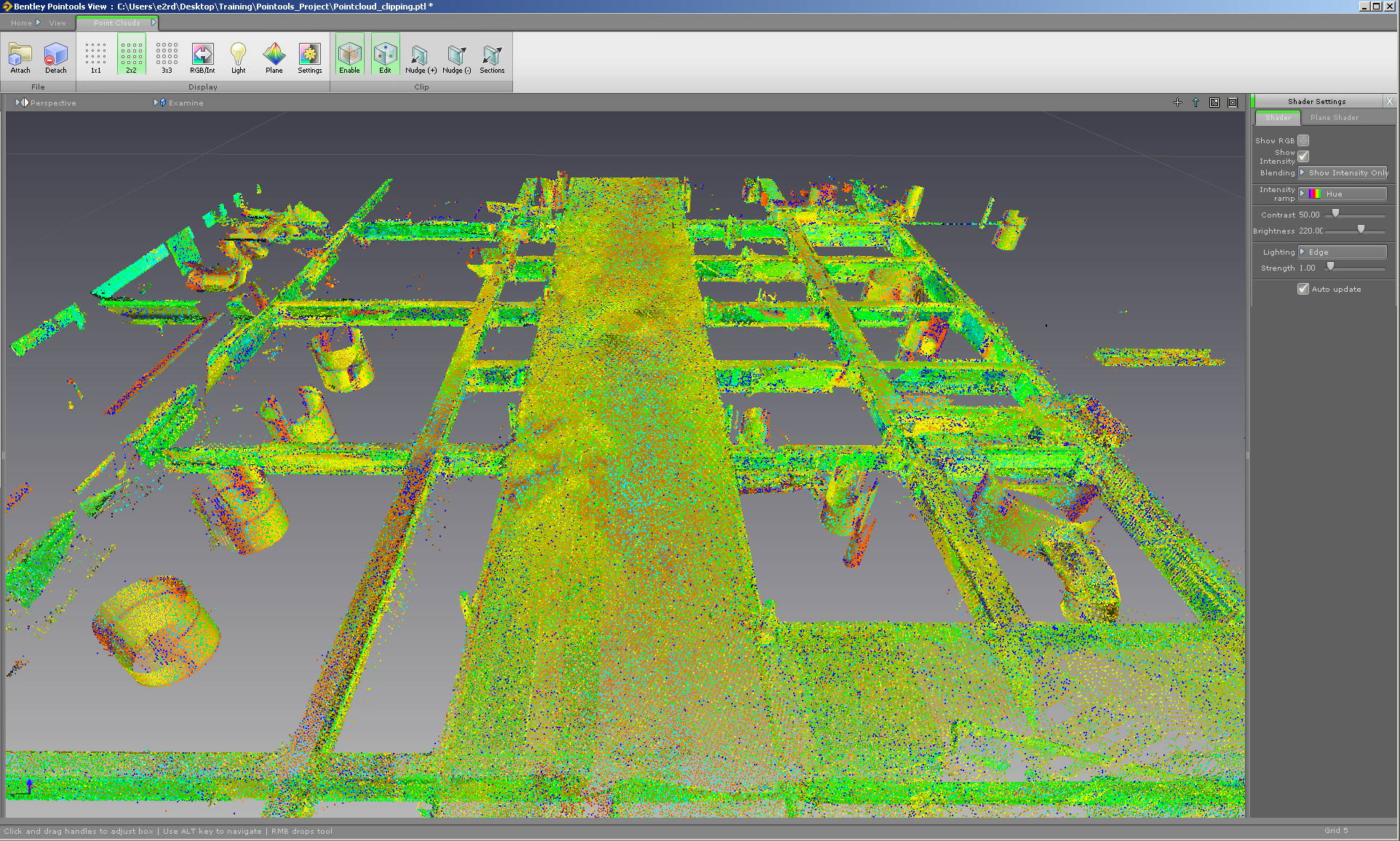 Point Clouds Properties - 3d Laser Scanning