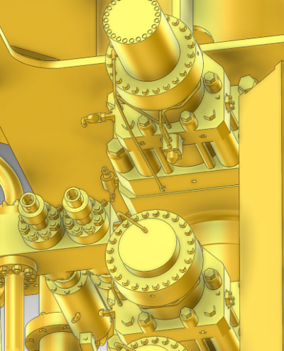 precise 3d model of blowout preventer