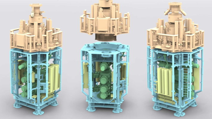 Blow out preventer a 3d model