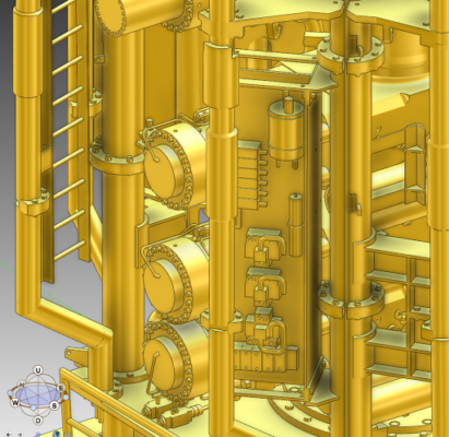 3d model of blowout preventer
