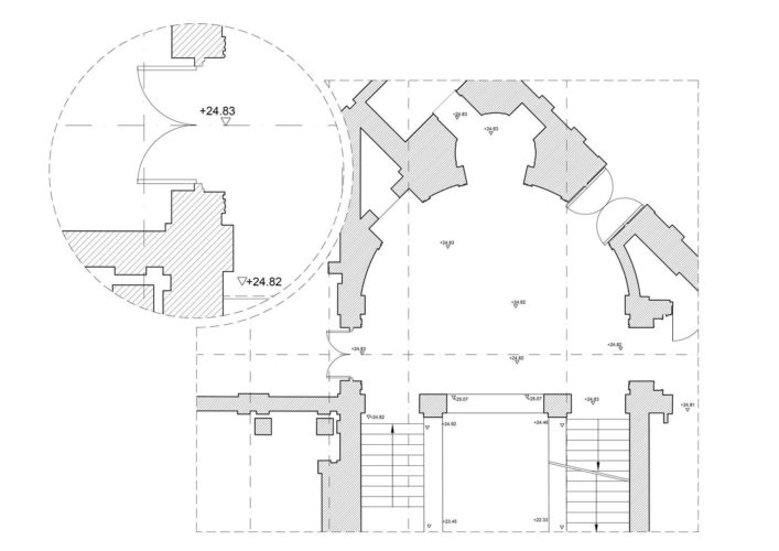 Floor plan drawing level of detail 1