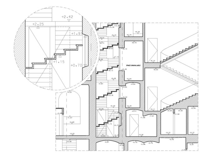 2D documentation drawing level of detail 2
