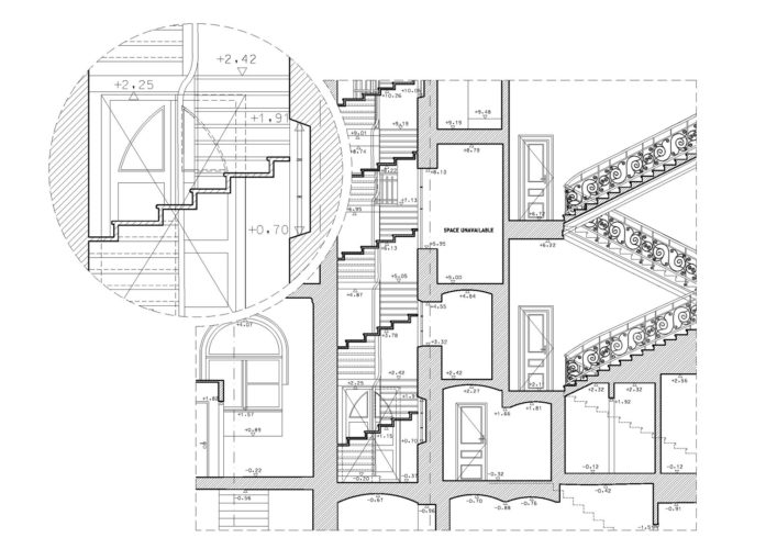 2D documentation drawing level of detail 3