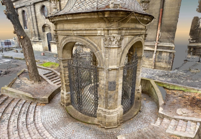 Digital inventorisation of The Well of Saint John from Dukla