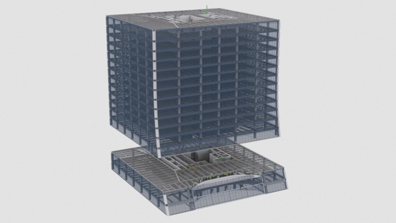 As-Built verification and BIM modelling